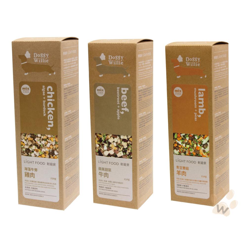 輕寵食 無穀系列有機Mix主食250g 1入