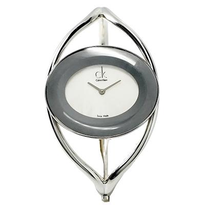 CK  Delight 氣質環繞感女性手錶( K1A2351G)- 白/34mm