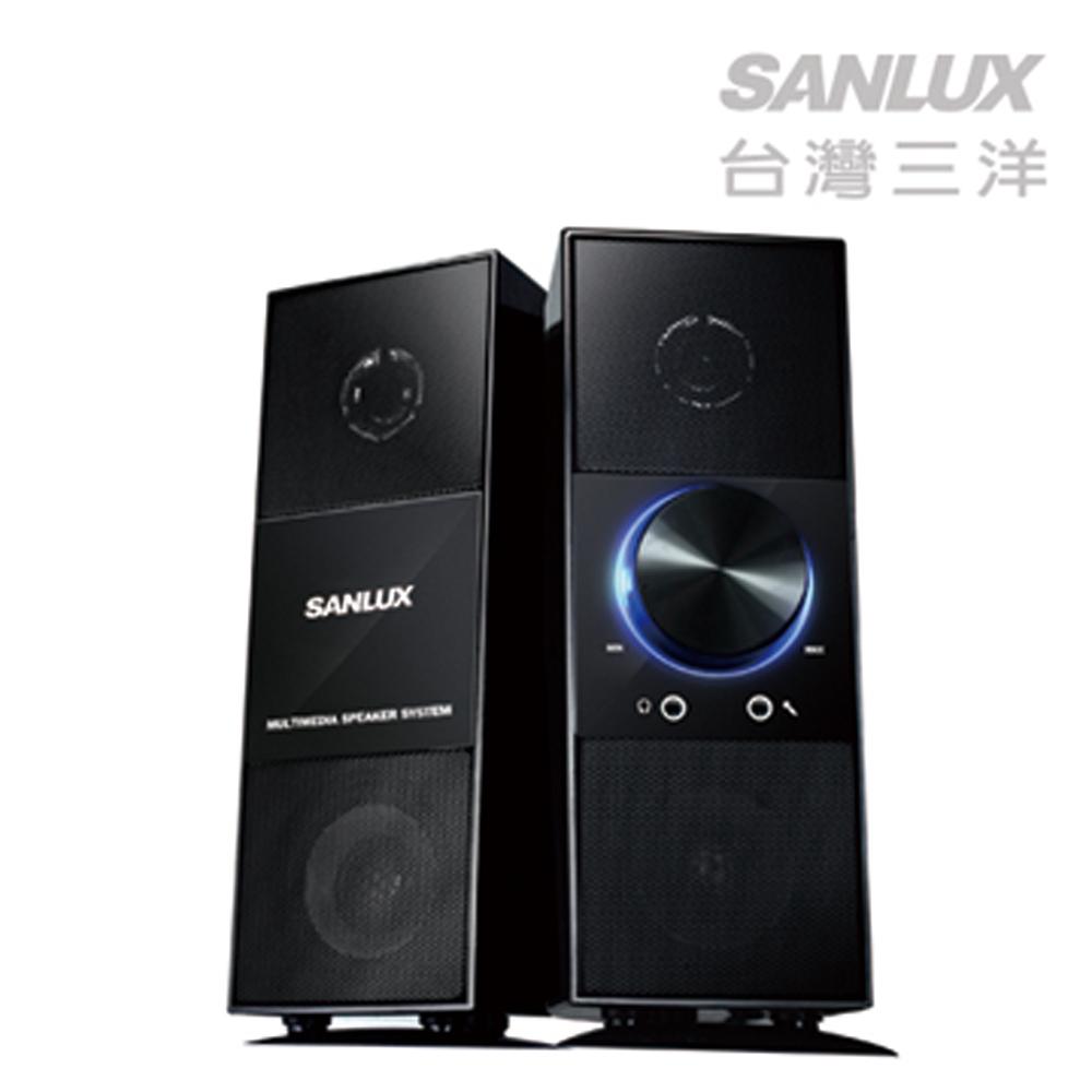 SANLUX台灣三洋旗艦 2.0聲道多媒體喇叭-1027