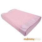 媽咪小站-嬰兒乳膠護頸枕 (粉)