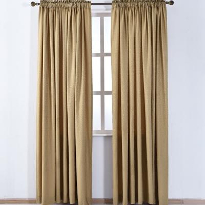 伊美居 - 愛丁堡半腰窗簾 130x165cm (2件) 金色