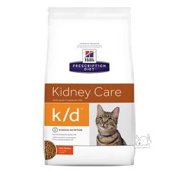 Hills 希爾思 腎臟病護理 k/d 貓用處方乾糧 8696 8.5磅 1包