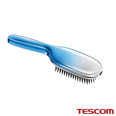 TESCOM 負離子音波振動髮梳TIB20TW (湖藍)