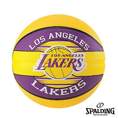 SPALDING 斯伯丁 NBA 隊徽球 湖人Lakers 籃球 7號