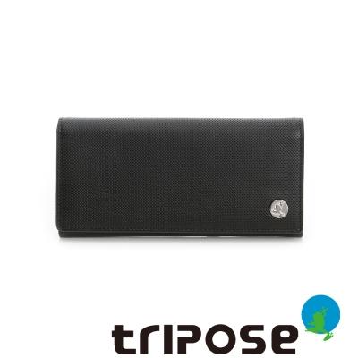 tripose   Yuppie系列經典款男長夾 - 深咖