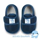 任選-KU.KU酷咕鴨 酷咕鴨超透氣學步鞋-深藍(M/L/XL/LL)
