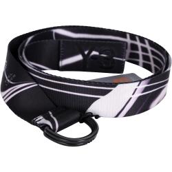 Y-3 WEBBING 黑白條紋織布腰帶