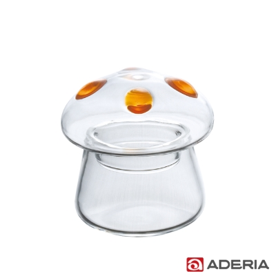 ADERIA 日本進口圓點蘑菇容器(中)
