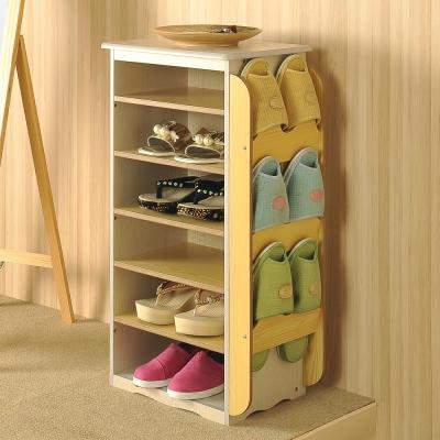 Asllie雙色鞋叉櫃-35.5x26x73cm