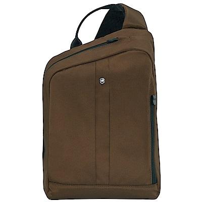 VICTORINOX 瑞士維氏TA 4.0平版單肩背包-深咖啡