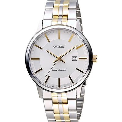 ORIENT 東方錶 復刻石英男錶-白x半金/40mm