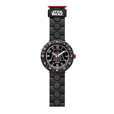 FlikFlak 兒童錶 STAR WARS DARTH VADER 黑武士來襲手錶
