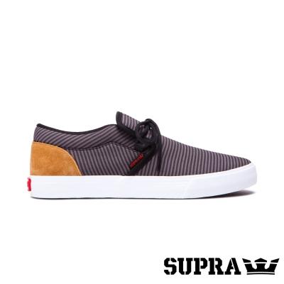 SUPRA Cuba系列男鞋-黑/灰/條紋