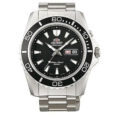 ORIENT 極限冒險自動上鍊機械腕錶(FEM75001BR)-黑/44mm