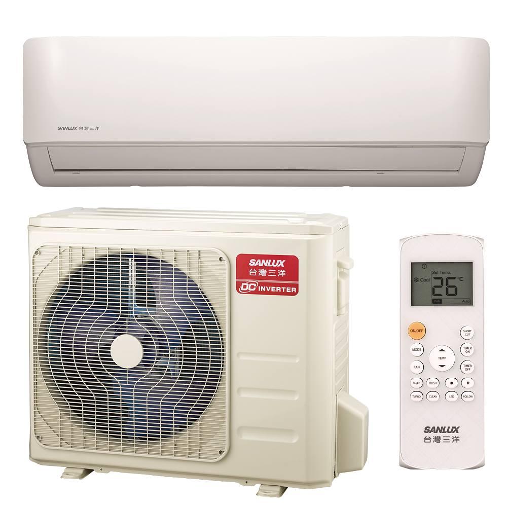 SANLUX台灣三洋 8-10坪分離式一對一冷專變頻冷氣 SAC/E-V50F
