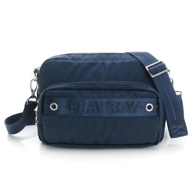 PLAYBOY-S-Sagiv-系列2WAY胸前包-藍色
