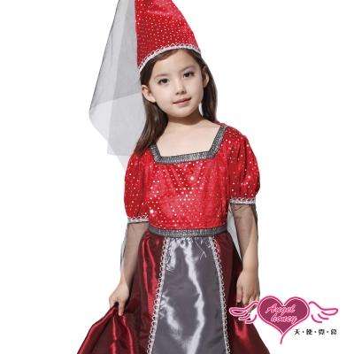 俏麗小公主 萬聖節童裝系列(紅M,L) AngelHoney天使霓裳
