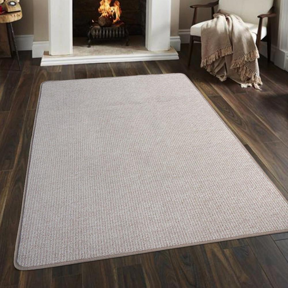 Ambience 比利時Fjord 素面地毯- 米色 160x240cm