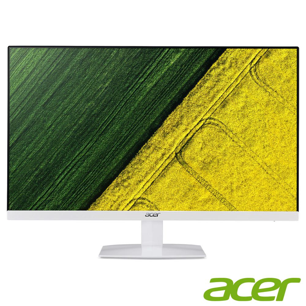 Acer HA270 27型IPS纖薄美型無邊框電腦螢幕(福利品)