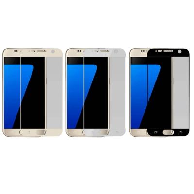 QinD SAMSUNG Galaxy S7 G930F 熱彎滿版保護貼