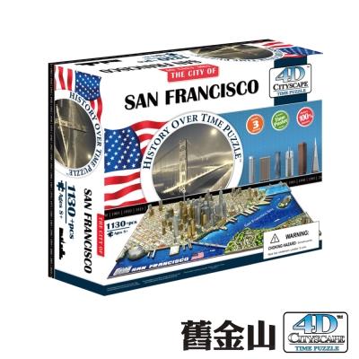 4D Cityscape 4D 立體城市拼圖 - 舊金山
