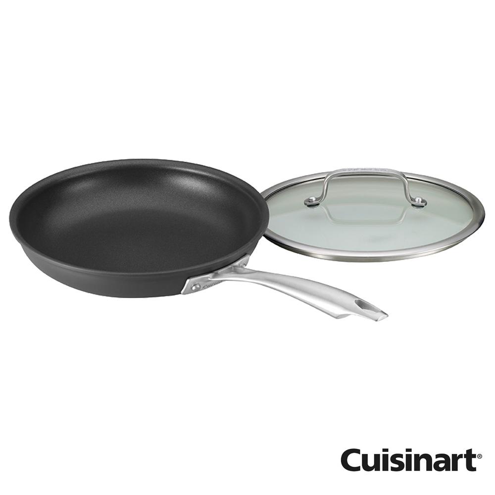 美國Cuisinart美膳雅專業不沾抗刮系列-單柄煎鍋24cm