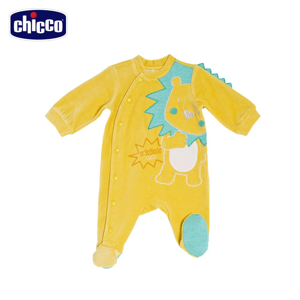 chicco好朋友前開兔裝-黃小獅(6-18個月)