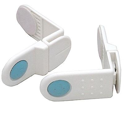 寶寶安全防護自黏式櫥櫃轉角直角安全鎖超值4對(OL-518)