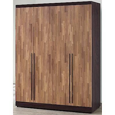 H&D 積層木5尺衣櫥 (寬152X深57X高203cm)