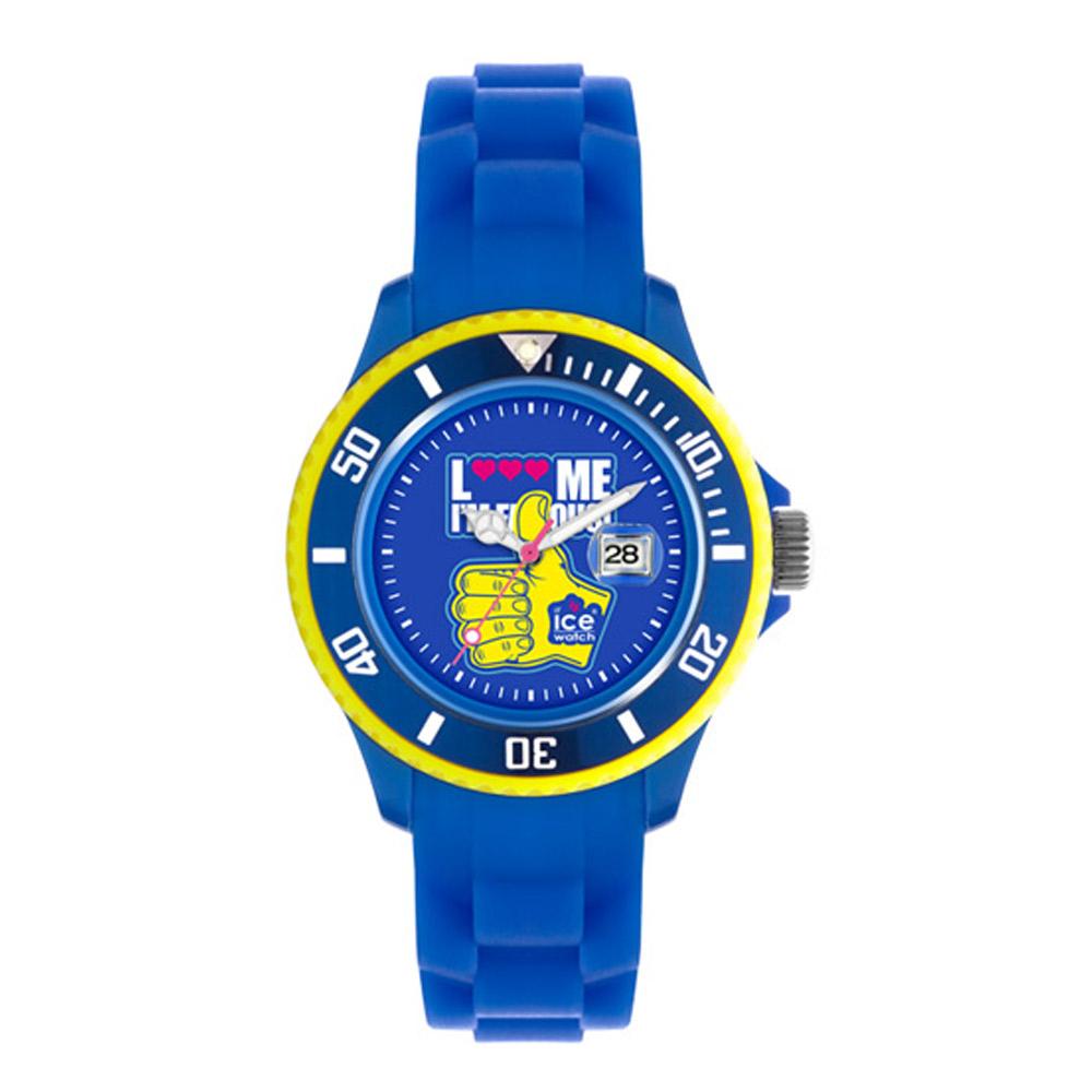 ICE Watch  LMIF系列 經典之作-皇家小手主題-藍/38mm