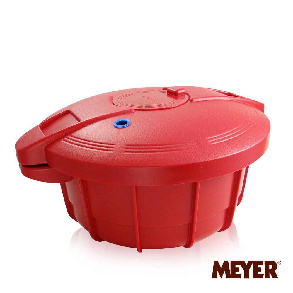 Meyer神奇微波壓力鍋(紅)