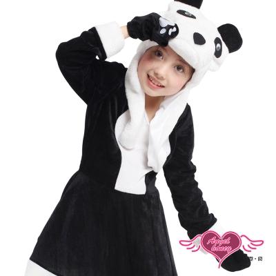 俏皮熊貓 萬聖節童裝系列(黑白) 天使霓裳