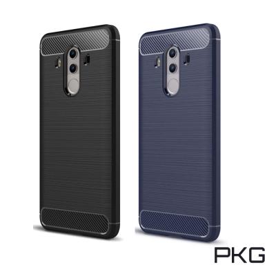 PKG  華為MATE10-Pro 抗震防摔手機殼-碳纖維紋系列