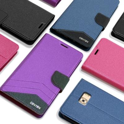 GENTEN Samsung Galaxy C9 Pro 英倫典藏側翻支架皮套