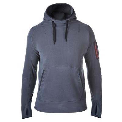 【Berghaus 貝豪斯】男款 FONT連帽刷毛保暖上衣H51M03灰