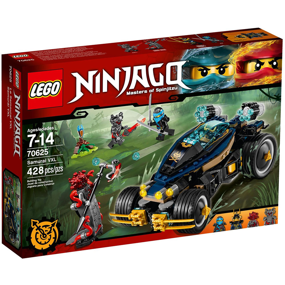 LEGO樂高 忍者系列 70625 武士VXL戰車(7Y+)