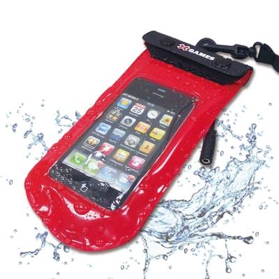 X-GAMES-智慧型手機防水袋-紅色