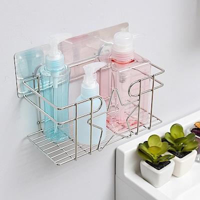 樂貼工坊 瓶罐架/乳液架/金屬貼面-20x10x9.5