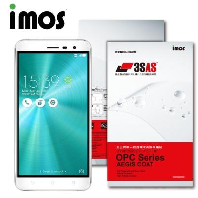 iMOS ASUS ZenFone 3 (5.5吋) 3SAS 疏油疏水 螢幕保護貼