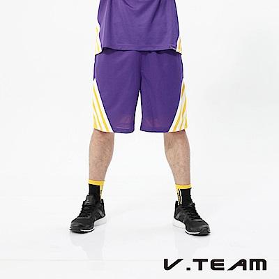 VTEAM 吸排籃球褲-中紫