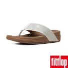 FitFlop TM-SURFER TM PERF LEATHER-都會白