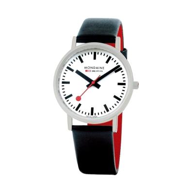 Mondaine 瑞士國鐵平面經典腕錶-36mm