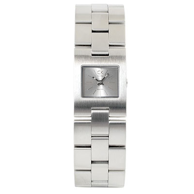 【Calvin Klein】個性時尚風腕錶-(銀面)