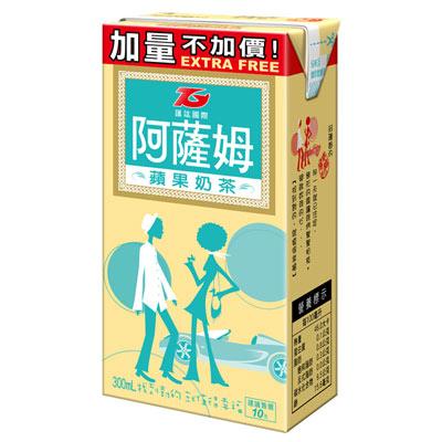 匯竑阿薩姆 蘋果奶茶300ml (6入)