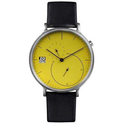 ZOOM-PURE 精準比例時尚腕錶-綠色/44mm