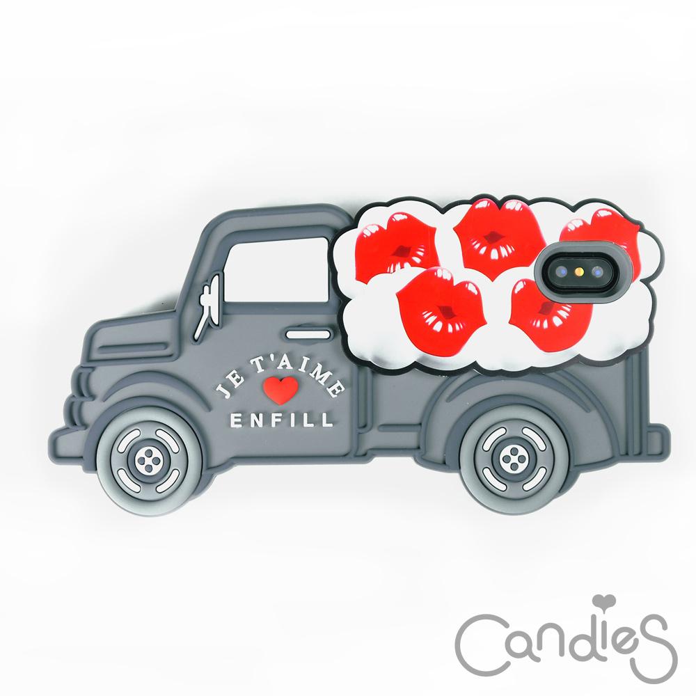 Candies 立體繽紛卡車手機殼(Lips) iPhone X