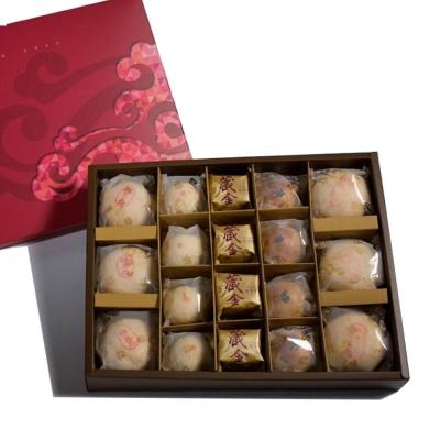 漢坊糕餅 金饌-綜合禮盒x2盒(18入/盒)+御點-土鳳梨酥禮盒x1盒(8入/盒)