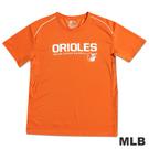 MLB-巴爾的摩金鶯隊舒適快排T恤-桔(男)