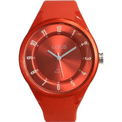 Lotus 亮色潮流 立體指針休閒錶(TP2117M-03)-紅/39mm