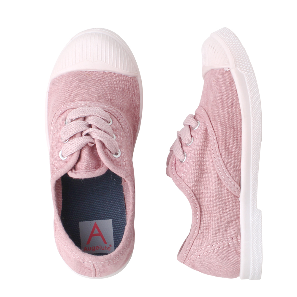 baby童衣 親子鞋系 素面綁帶帆布鞋 60344